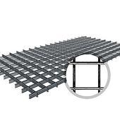 Сетка сварная в картах (250х2000) 50х50 ТУ из проволоки 2.5мм