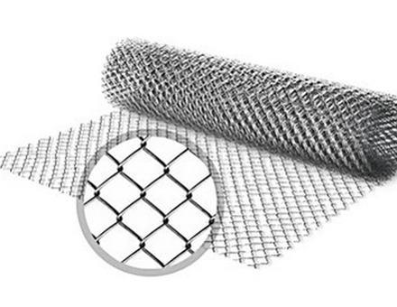 Сетка рабица оцинкованная 1м х 10м ячейка 25 х 25